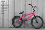BMX Rad Sunday Bikes Primer in pink